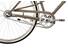 Creme Caferacer Uno Citycykel Damer 3-speed grå